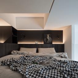 卧室图片——33平方全能小公寓,仅3.5米做二层