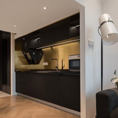 33平方全能小公寓,仅3.5米做二层_4014733