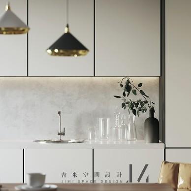 【吉米设计】现代|单身公寓_4023557