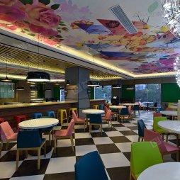 摩登现代茶餐厅装修设计,重现港味潮流。_4026089