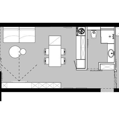 48平米小户型改造,家是心灵的岛屿。_4031062
