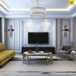 现代美式住宅——九号别墅_4037784