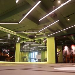 设计做得好,小型健身房也能变得高大上_4039669