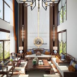 新中式别墅设计_4040614