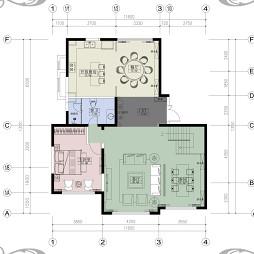 乾典空间设计 昆明——复式楼东南亚_4045431