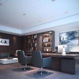 乾典空间设计 昆明——科技公司办公室_4047011