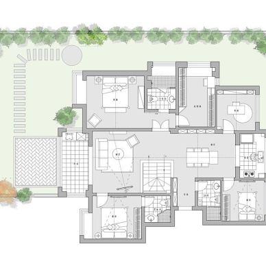 270m²两人居,完美演绎品质生活新主张_4057368