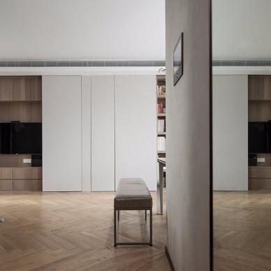 一面变化多端的收纳墙让小两房变大三房_4066466