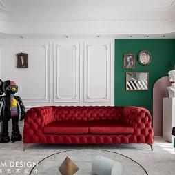 红绿CP喜形于色,精装房也能时髦高调_4067032