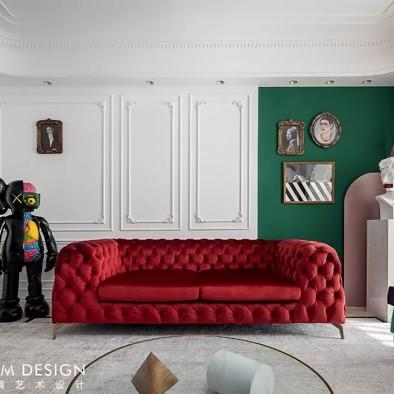 红绿CP喜形于色,精装房也能时髦高调