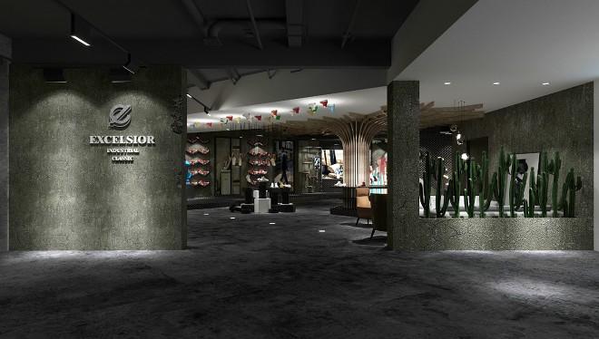 饼干鞋展厅