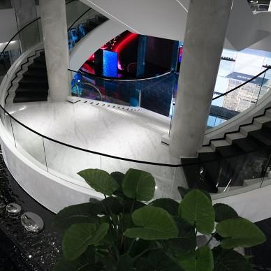 汇亚陶瓷总部展厅:让空间在自由中流淌_1585291975_4090351