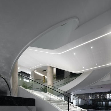 汇亚陶瓷总部展厅:让空间在自由中流淌_1585291975_4090350