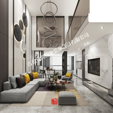 复式样板房设计-006_1585366126_4091385