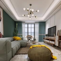 轻奢风家装设计北欧新房设计_1585579558_4094111