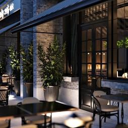 餐厅展厅空间(夜晚)丨如伊视觉(24)_1586421855_4105500