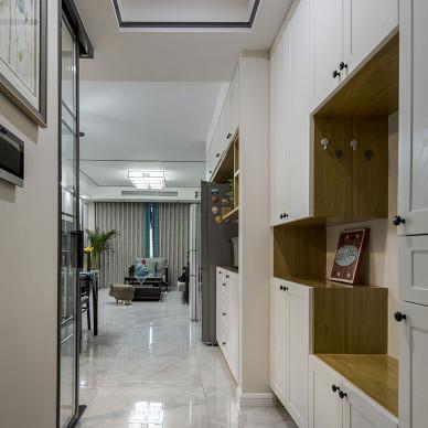 128m²,新中式,传统与现代的完美融合_1586679502_4109408