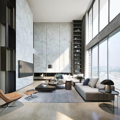 曾经风靡大江南北的现代台式风格|复式住宅_1586850483_4111702