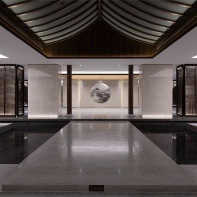 INHOUSE设计:蓝城鄪国古城营销中心