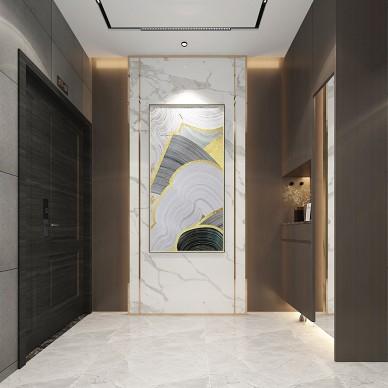 别墅大宅平层样板间轻奢现代风设计装修_1587019758_4114015