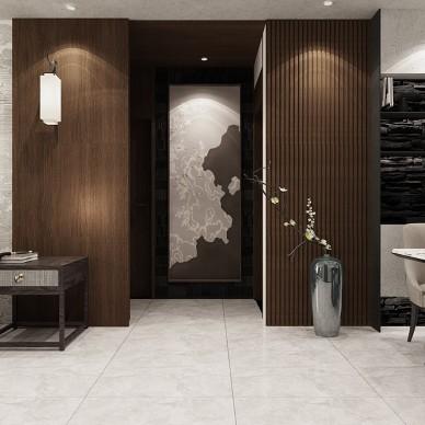 别墅大宅平层样板间品质新中式现设计装修_1587020111_4114037