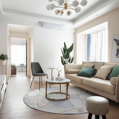 55m²的居所,打造简而不单的生活空间。