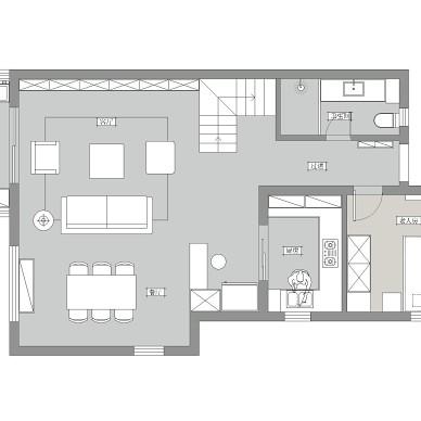 拒绝千篇一律精装房的设计,我要有格调的家_1587970286_4125665