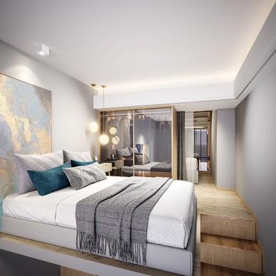 简朴·你期望的家 / 佛山山水复式公寓_1588077126_4126823