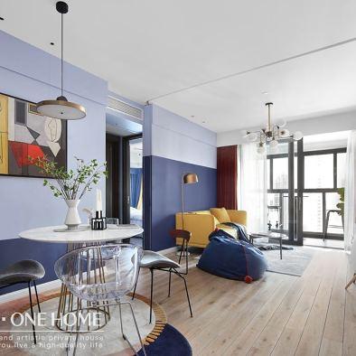 从舍实景|保利90㎡MO公寓现代两居室