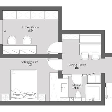70m²公寓 | 有一种气质叫muji风_1588325766_4129713