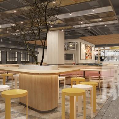 潘多拉生活食集-华空间美食广场设计案例_1588758827_4133964