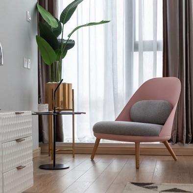 墨綠與臟粉的碰撞—Ins風現代輕奢小公寓