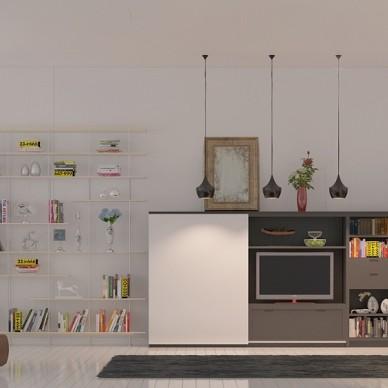 红苹果家具展厅设计_1591349244_4165801
