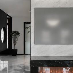 黑白灰极简风,点光源与线性灯的氛围感超赞_1591693369_4169391