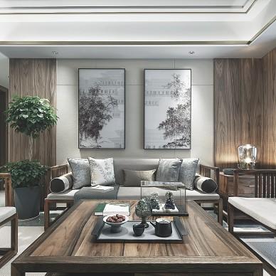 新中式  家居氛围中的东方气质|予冰软装_1591954433_4172388