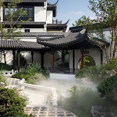 用艺术的现代主义讲述当代中式的庭院生活_4175970