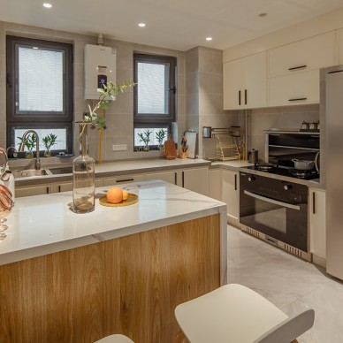 远程设计的开放式厨房  我要美一回_1592652624_4179496
