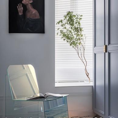 由入户衣帽间,进入一个画廊般的家_1593246174_4185137