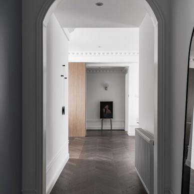 由入户衣帽间,进入一个画廊般的家_1593246174_4185138