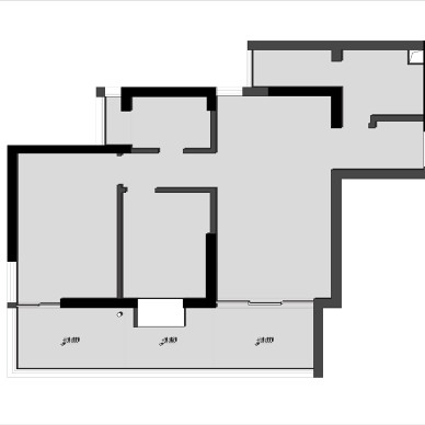 旧房大改造,原木日式风与生活空间的对话。_1593427885_4187881