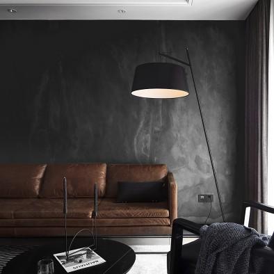 把黑色完美的植入这个家,让现代感融于其中