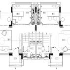 286平米别墅六房户型平面图3