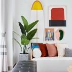 客厅绿植摆放效果图