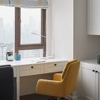 家装书房书桌效果图