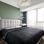 卧室刷豆沙绿效果图