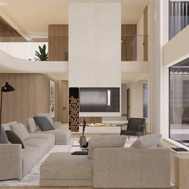 1000㎡别墅私宅,于繁华中至简而居_1593655057_4190040