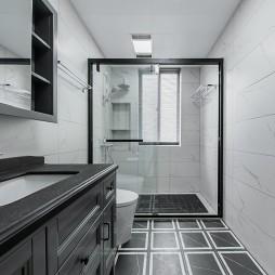 干湿分离浴室装修效果图