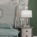 台灯卧室床头灯水晶