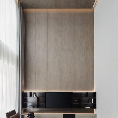 挑高客厅装修设计效果图