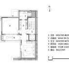 143平米2楼户型图